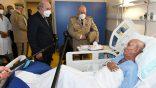 Tebboune se rend au chevet de Brahim Ghali, hospitalisé à Alger