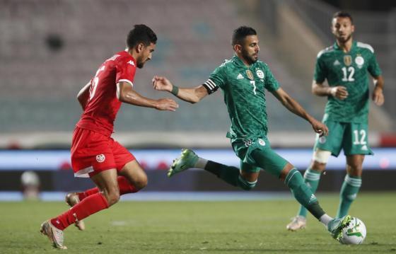 Match amical: L'Algérie bat la Tunisie  2-0