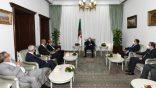 Tebboune reçoit les vice-présidents du Conseil présidentiel libyen
