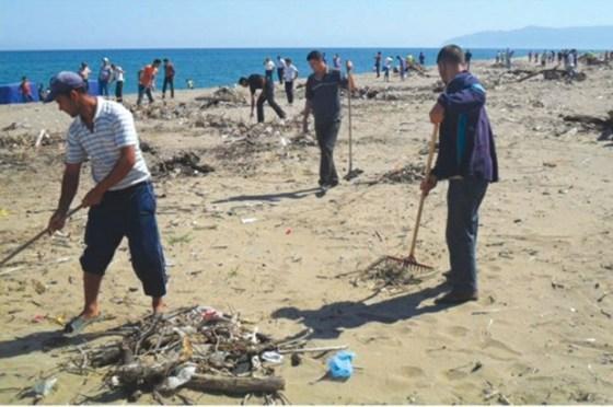 Campagne de sensibilisation à travers les plages de la Coquette