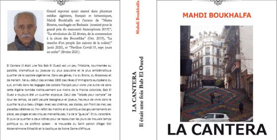 Parution de La Cantera de Mahdi Boukhalfa