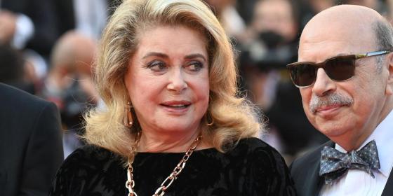 Festival de Cannes: Retour émouvant de Catherine Deneuve