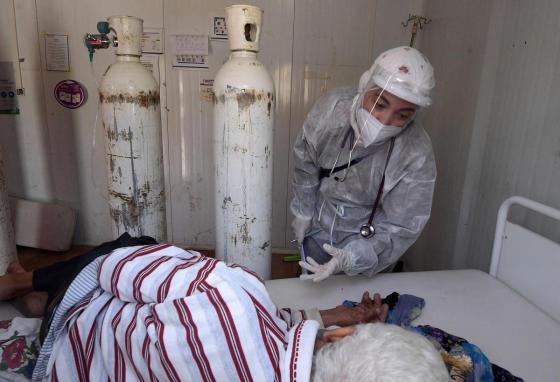Médéa  Covid-19 : risque de pénurie d'oxygène