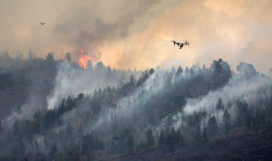 Incendies de forêts en Algérie: La piste des drones ennemis en question