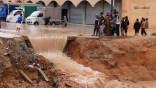 Intempéries à Médéa:  infiltration des eaux dans des habitations et routes coupées.