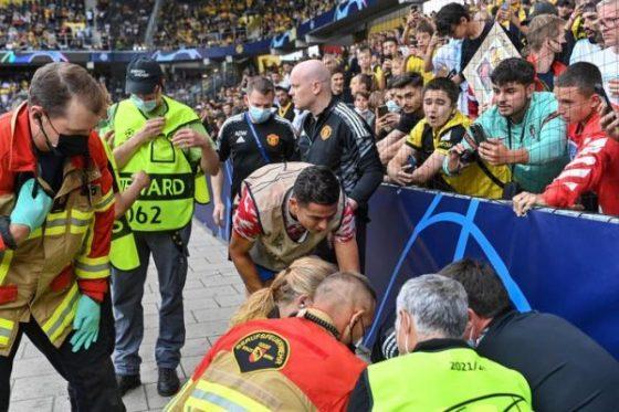 Ligue des champions : Ronaldo assomme un stadier à Berne