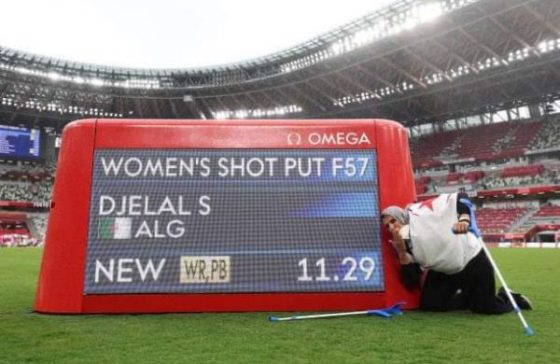 Paralympiques : Médaille d'or et record du monde pour Safia Djelal