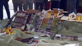 Béjaïa : Une grande quantité de produits pyrotechniques saisie