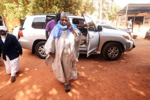 L'imam Mahmoud Dicko à Bamako, le 9février 2019.