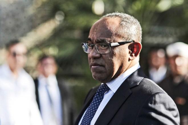 Ahmad Ahmad, le président de la Confédération africaine de football, en mars2017.