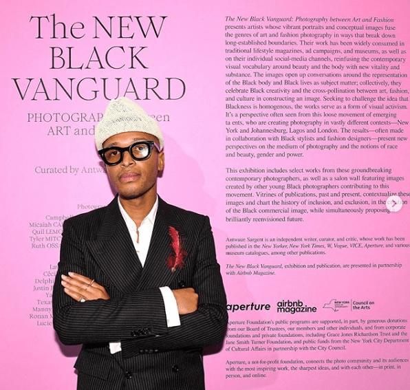 Critique d'art américain, Antwaun Sargent a réuni dans un livre les clichés de photographes noirs que le monde de la mode s'arrache.