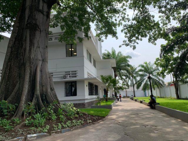 La Kinshasa Digital Academy est implantée dans le quartier huppé de Gombe.