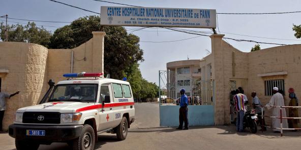 Le centre hospitalier de Fann, à Dakar, en 2014.