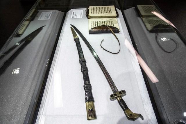 Sabre et fourreau attribués à El Hadj Omar Tall, grande figure militaire et religieuse ouest-africaine du XIXe siècle