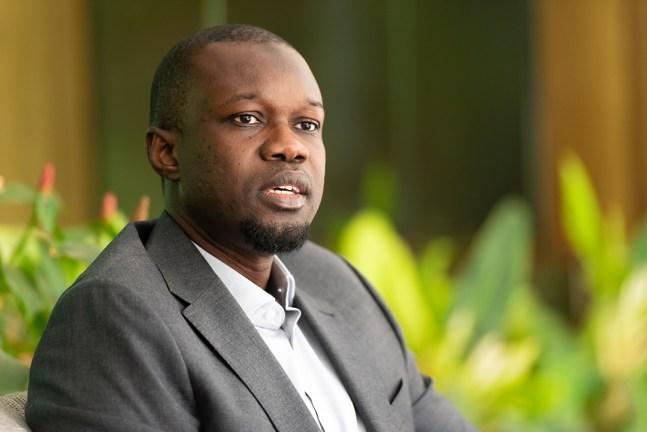 Ousmane Sonko, en novembre 2020.