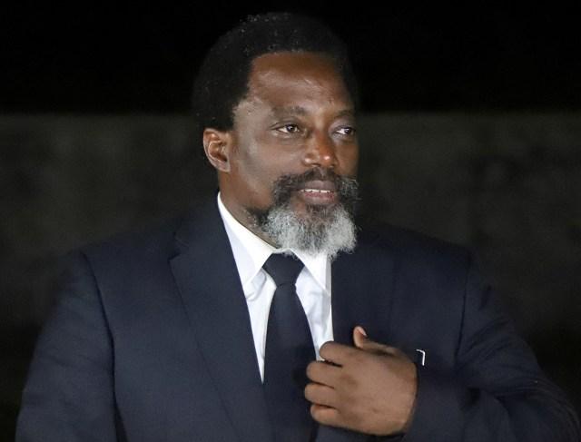 Joseph Kabila, en août 2018. «Je lui avais fait part de mon intention de gracier Eddy Kapend», affirme le chef d'État.