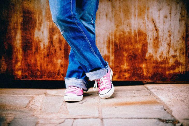 jeans-converse