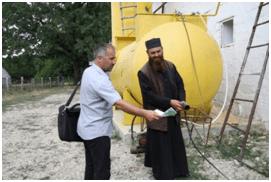 Visite de démonstration du biogaz