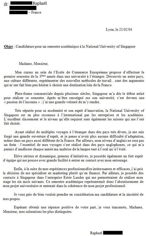 Lettre De Motivation Erasmus Conseils Et Exemples
