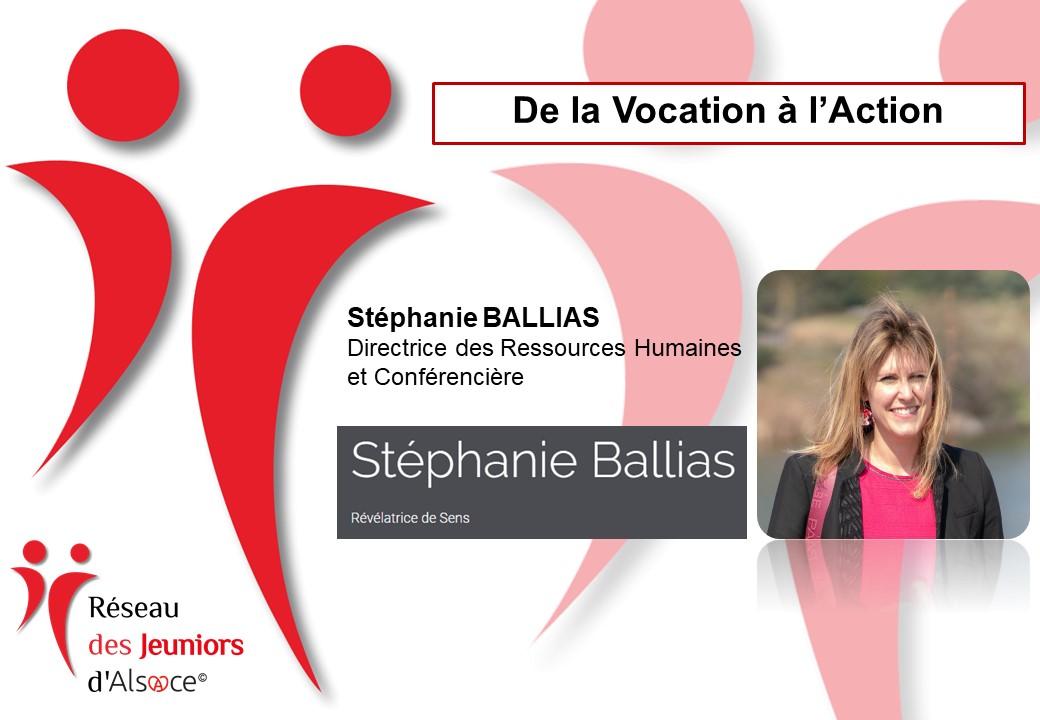 Stéphanie Ballias - Jeuniors d'Alsace