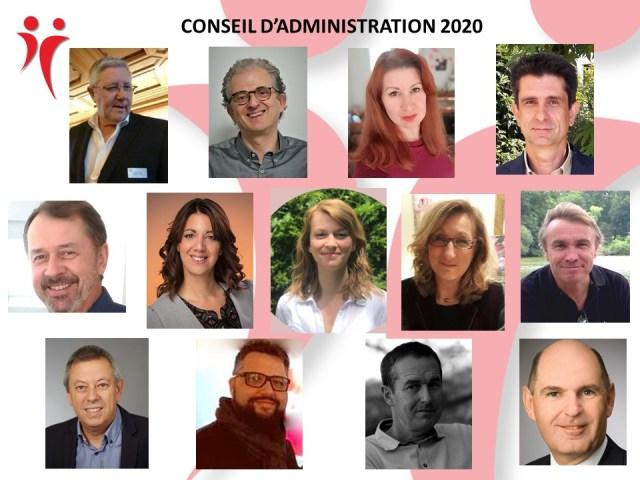 Conseil d'administration 2020-2021 Jeuniors alsace
