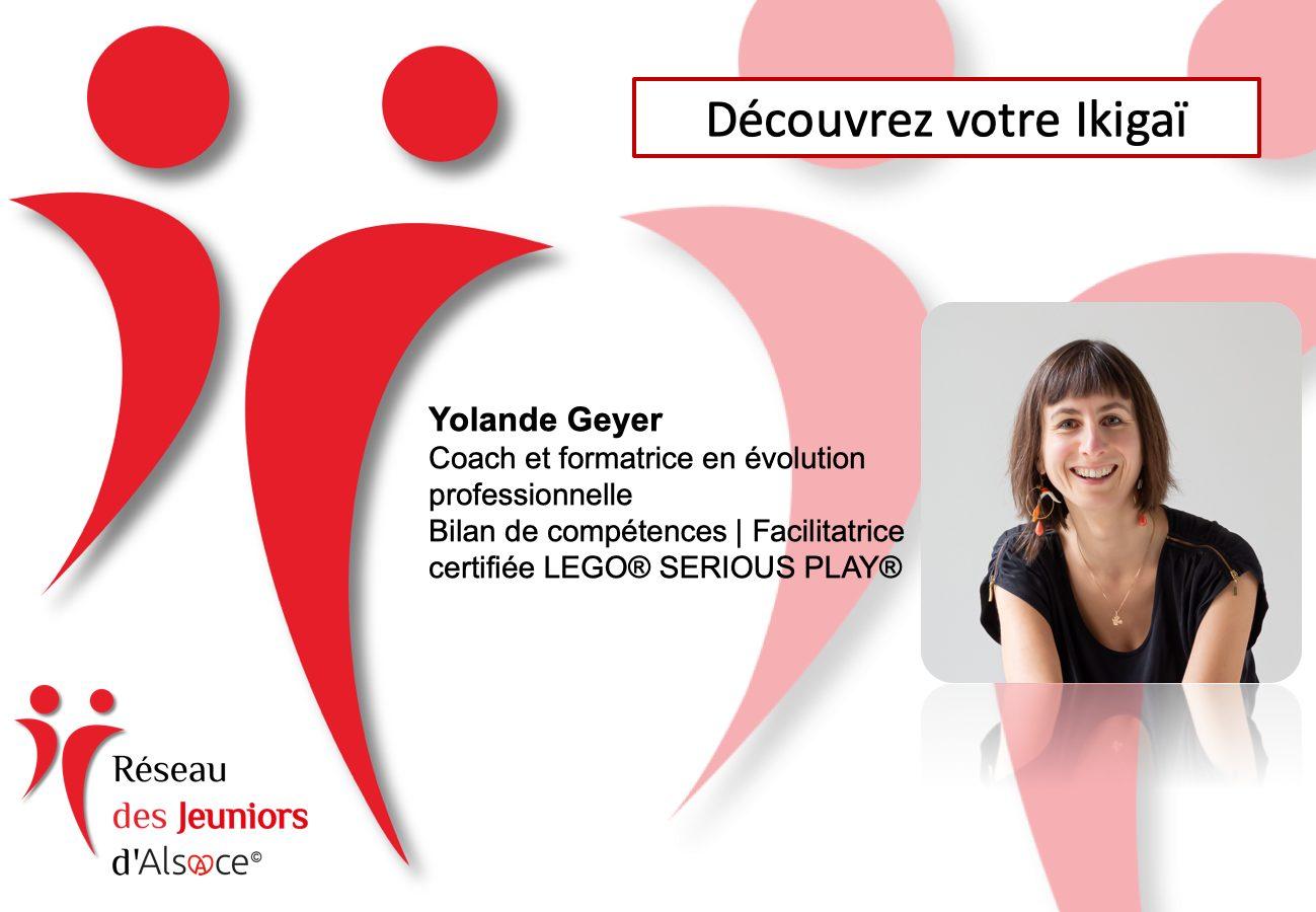 Jeuniors d'Alsace 148ème Rencontre-Café : Découvrez votre Ikigaï avec Yolande Geyer