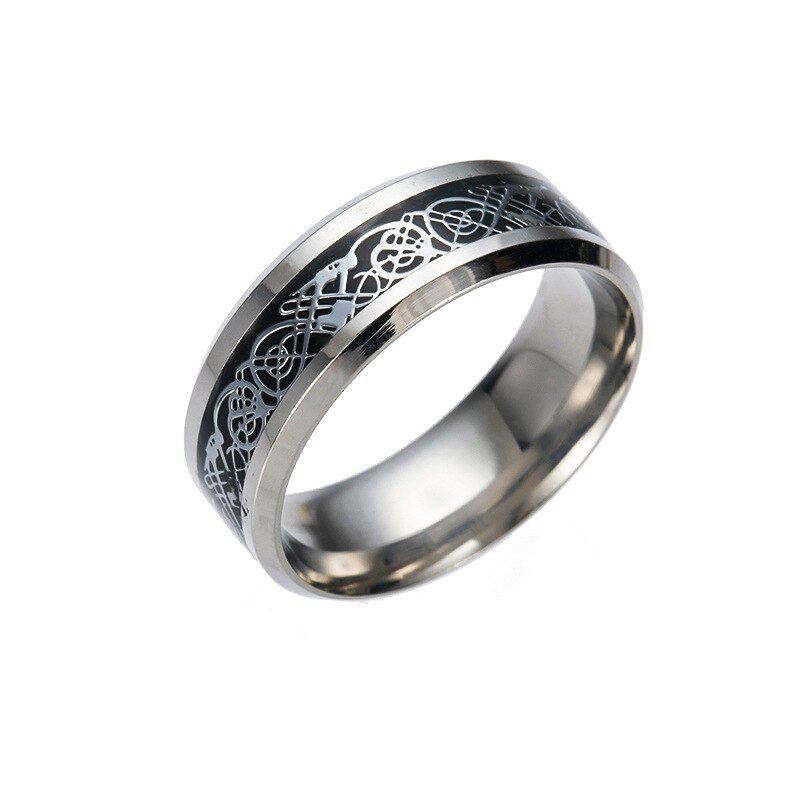 Ring with Dragon's Breath Effect