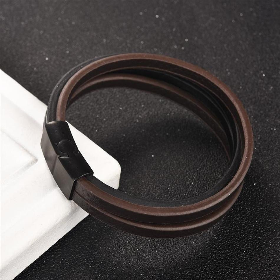 Alistar - Leather Men Bracelet