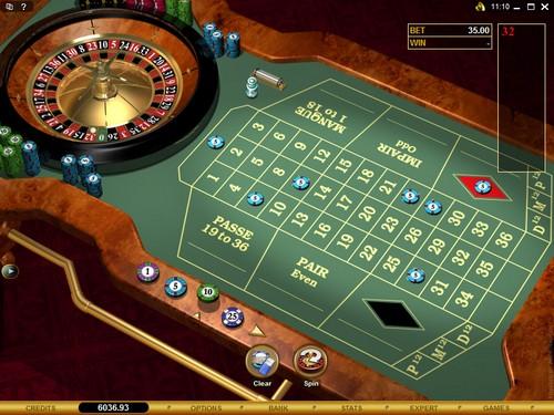Nouvelle roulette au spin palace casino