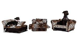 Keet 3pcs Ensemble pour animal domestique; Canapé, chaise et lit