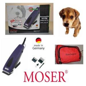 rotschopf24Edition: Moser Tondeuse professionnelle 1233rex, sschnellwechselsc hneidsatz. puissant + Silencieux. Fabriqué en Allemagne.