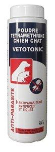 Vetotonic Poudre Antiparasitaire Chien 150 G – Lot de 2