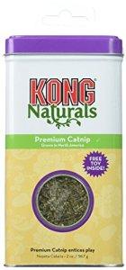 KONG Naturals CN2 – Premium Catnip – Herbe à chat de première qualité – 56,7g / 2oz