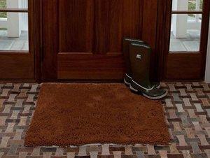 Soggy Doggy 91,4cm par 152,4cm en microfibre chenille Paillasson pour chien humide Paws (sans OS), brun Caramel, XL