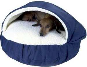 Snoozer orthopédique Cosy Cave Panier pour animal domestique, XL, Kaki