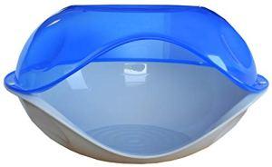 Agrobiothers Couchage Plastique Maison/Extérieur pour Chat 57 x 48 x 32 cm