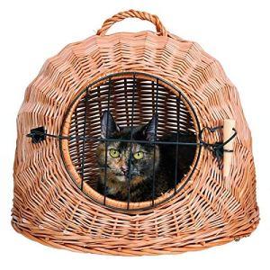 Generic. Lit Mes Poignée de Porte de Maison Lit en Maille Neuf Ouse Lit pour Animal Domestique Voyage EL Panier de Voiture Cat Dog Avel B Panier de Transport pour Chien
