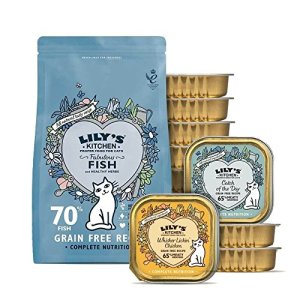 Lily's Kitchen Healthy Poids Lot pour chat (Medium) – Lot de 6