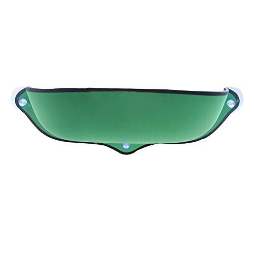 Lit de litière pour Chat Pet Kitty Window Sill Barsch Hamac avec Ventouse pour Petit et Moyen, N° 0, Vert, Free Size
