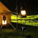 YoLiy Puissance Ultrasonique Animaux Repeller Animal Solaire Repeller Souris Repeller Camping en Plein air Alarme LED extérieur Repeller Garden Farm (Color : Green, Size : 14.5×9.5×16.5CM)
