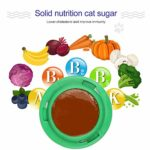 horen Chat Traite Boule de Sucre en Bonne Santé Cataire Collation Boule de Bonbons Nutrition Boule Dénergie pour Les Chats de Compagnie
