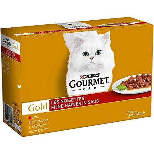 animaux Gourmet Gold – Gold Noisettes 1020G – Lot De 3 – Offre Special