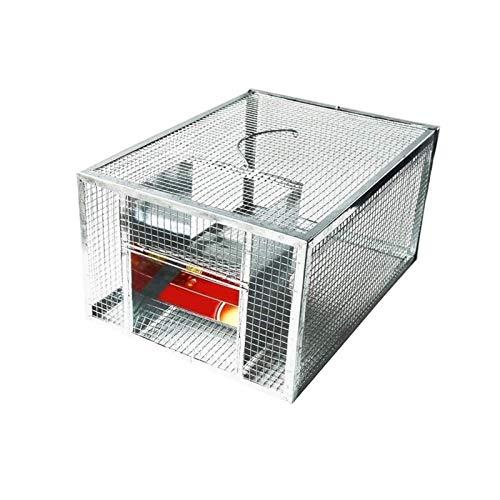 UNU_YAN Traps de Lutte antiparasitaire Moderne de la simplicité ménage Mousetrap continu Grand Espace Automatique Rat Snake Trap Cage Sécuritaire et Inoffensif à Haute efficacité Mousetrap