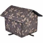 Ranana Maison pour animaux de compagnie imperméable, abri extérieur chaud pour chien de maison de chat astonishing