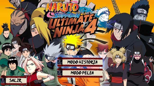 naruto shippuden ultimate ninja storm 4 ISO PS2