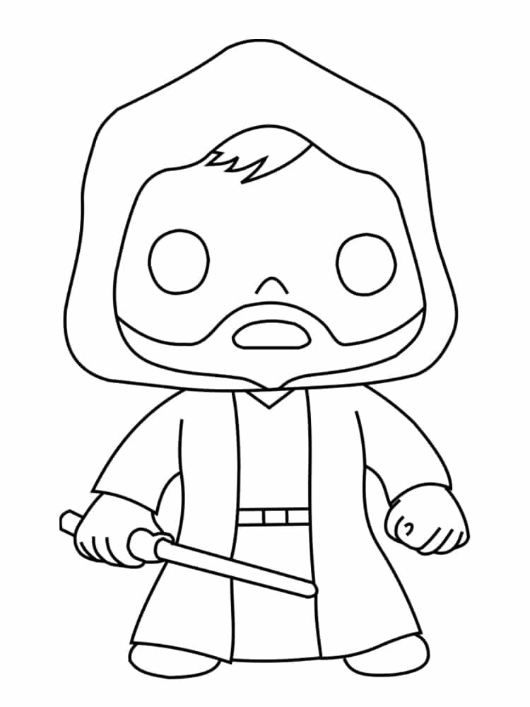 Coloriage personnage star wars : 18 dessins uniques et
