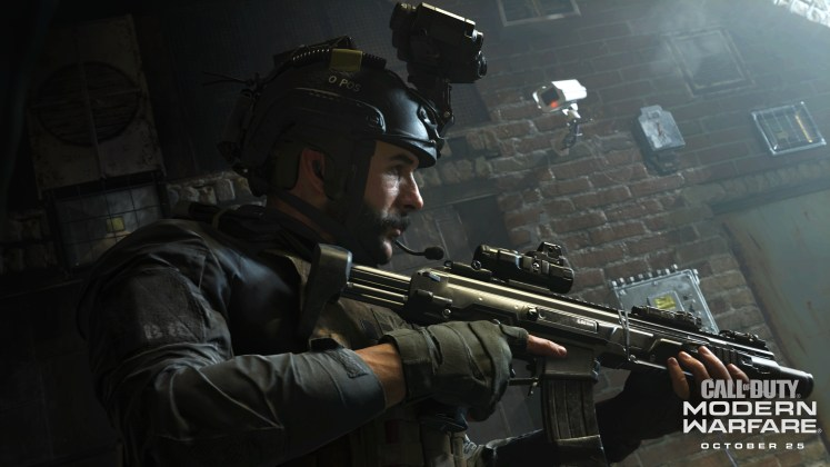 Annonce de Call of Duty Modern Warfare, jeuxvideo24