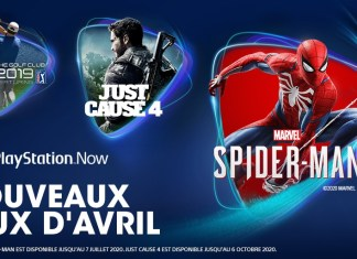 PS Now - Avril 2020
