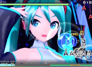 screenshot Hatsune Miku Project DIVA Mega Mix switch