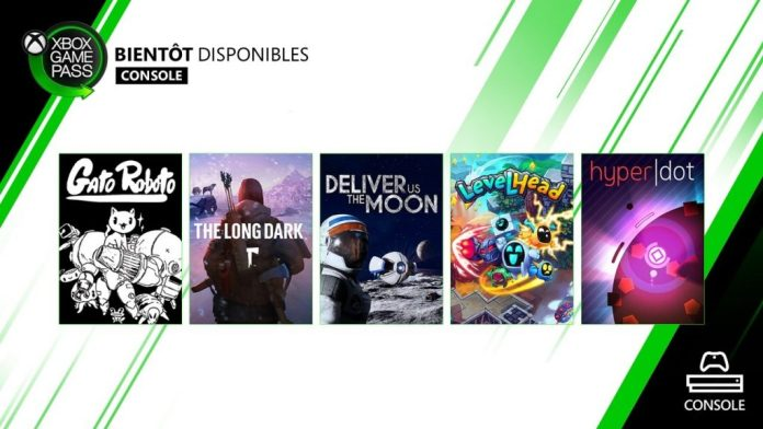 xbox game pass avril 2020 console